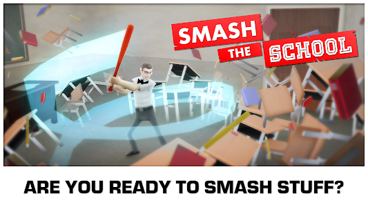 Smash the School - Stress Fix! v1.3.21 (Mod Money)