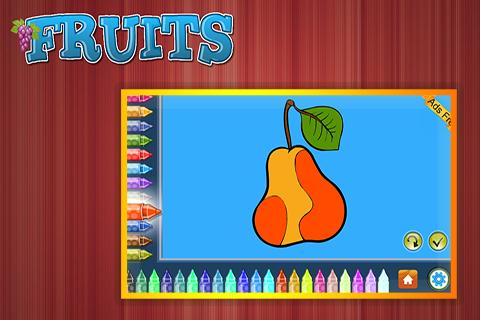 Coloring Book Fruits 1.5.0 screenshots 3