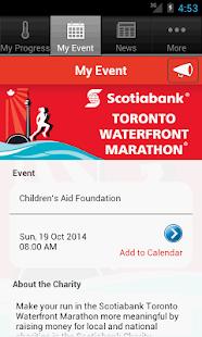 Scotiabank Charity Challenge - screenshot thumbnail