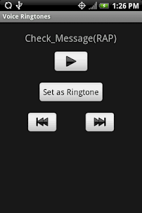 VOICE Ringtones - screenshot thumbnail