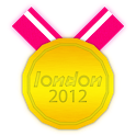 London 2012 Medals icon