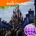 Disney Paris Street Map logo