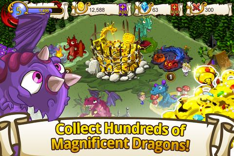 Tap Dragon Park - screenshot