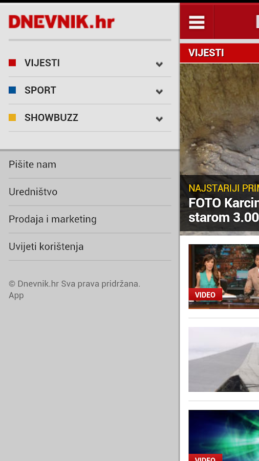 Dnevnik.hr - screenshot
