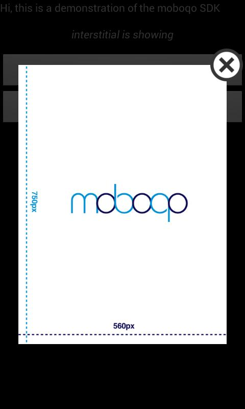 moboqo SDK Demo - screenshot
