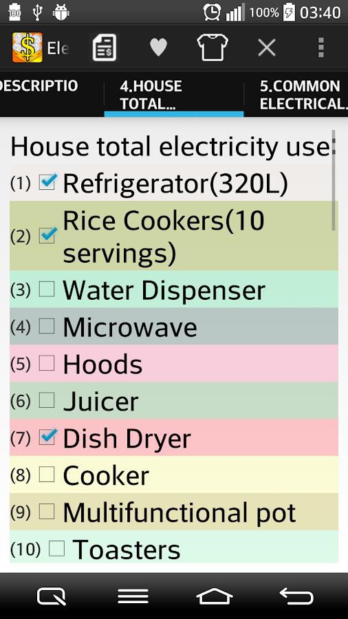 Water Bill Consumption Calculator 103