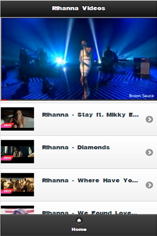 Rihanna Videos - screenshot