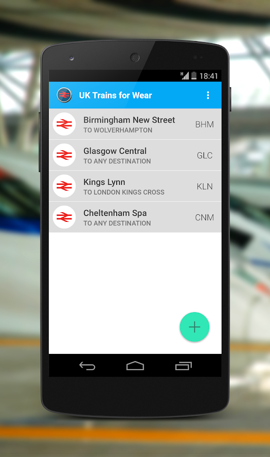 UK Trains for Wear- screenshot