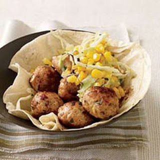 Chipotle-Chicken Meatballs.