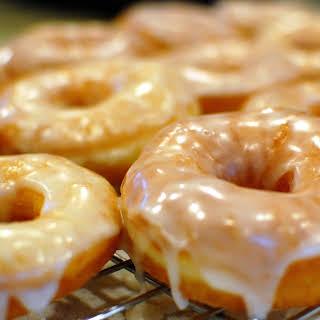 Krispy Kreme Copycat Doughnuts.