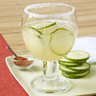 Cucumber and Chili Margarita.