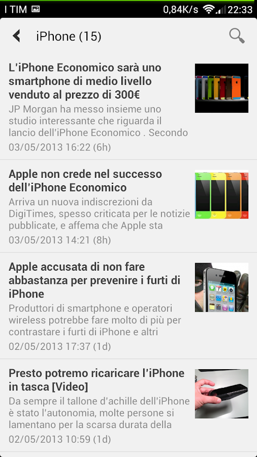 BeMobile - Beiphone.it- screenshot