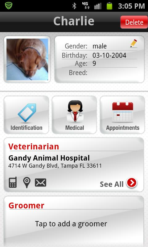 Purina Pet Health - screenshot