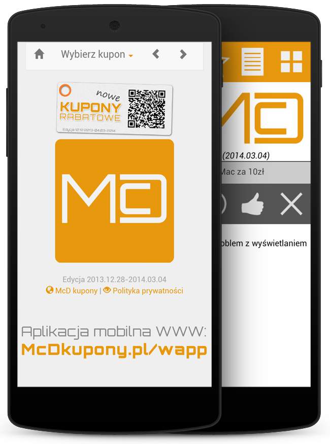 McD Kupony do McDonald's - screenshot