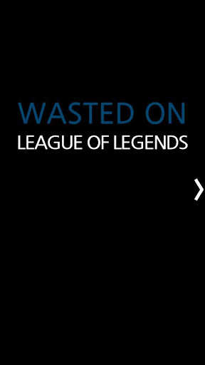 Wasted On LOL na kr