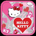 Hello Kitty Heart Pink Theme icon