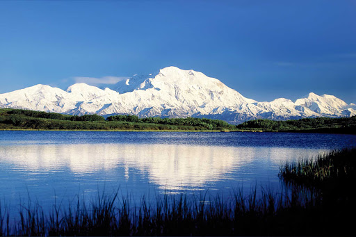 mountain-Denali - Excursions to Denali National Park offer the opportunity to see the beautiful mountains of Alaska.