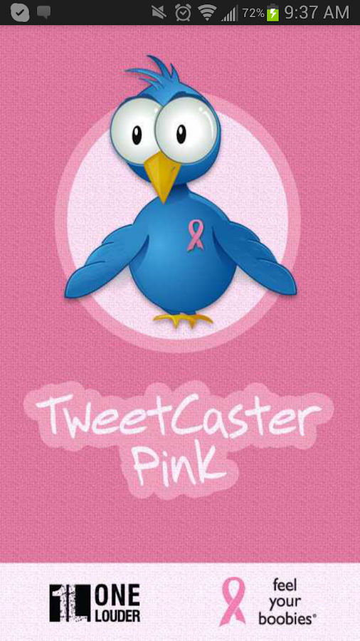 TweetCaster Pink for Twitter - screenshot