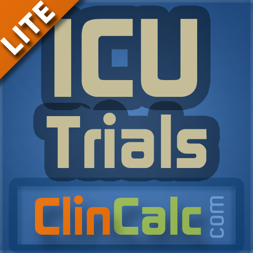 ICU Trials Lite by ClinCalc 醫療 App LOGO-硬是要APP