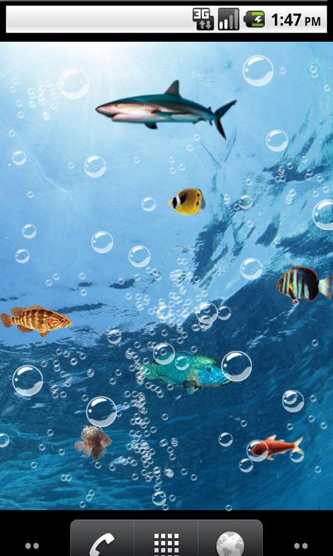 Download the home aquarium live wallpaper android apps on for Wallpaper live home