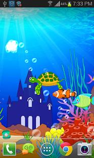 水族館海底世界動態桌布 FREE PRO