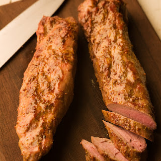 Orange Mustard Grilled Pork Tenderloin