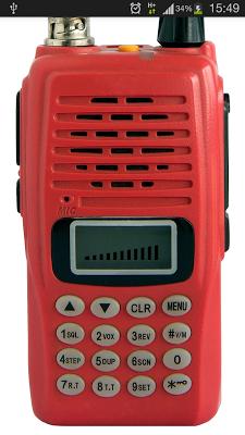 Russian police radio - screenshot