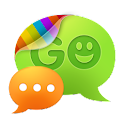 GO SMS Pro SimpleBlue theme logo