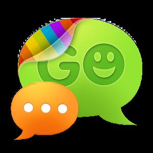 GO SMS Pro SimpleBlue theme