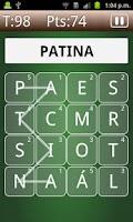 Screenshot of eñe Spanish Word Game