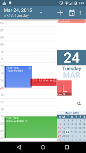 aCalendar - Android Calendar- screenshot thumbnail