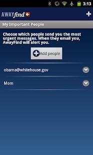 AwayFind  (Email Alerts) - screenshot thumbnail