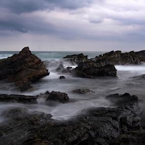 Karang Taraje by Marcelino Moningka - Landscapes Waterscapes