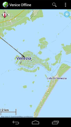 Offline Map Venice Italy