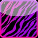 GO SMS Girly Zebra Theme icon