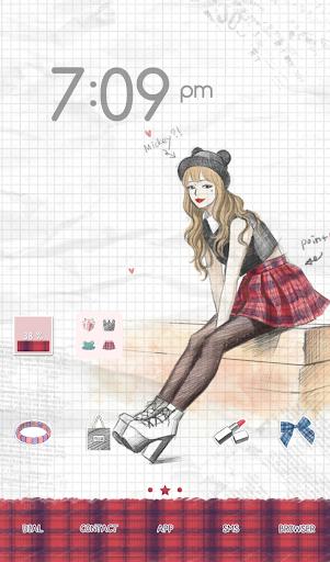 玩個人化App|피피노트(check pattern) 도돌런처 테마免費|APP試玩