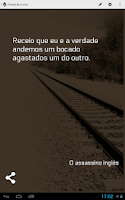 Screenshot of Book Quotes in Portuguese