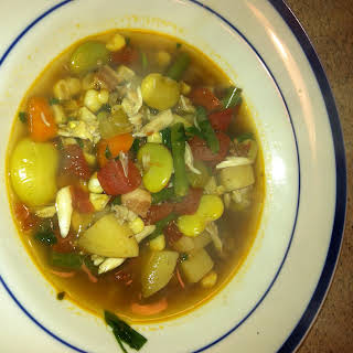 Maryland Crab and Vegetable Soup.