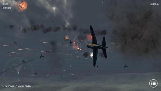 Simulador de aviación guerra