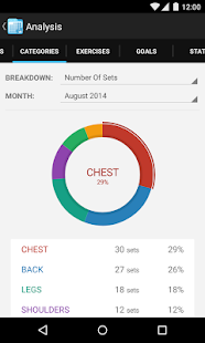 FitNotes - Gym Workout Log- screenshot thumbnail