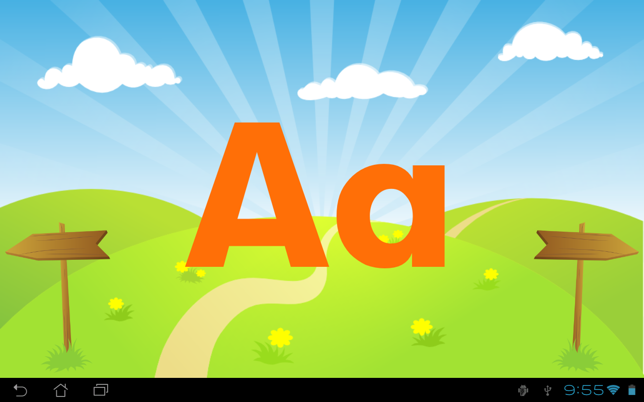 kids abc letters android apps on google play With kids abc letters
