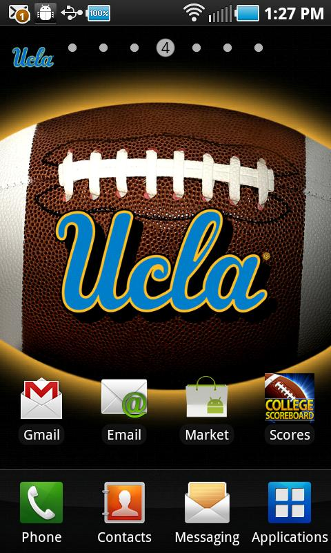 UCLA Revolving Wallpaper - screenshot