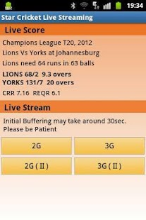Cricket Live Stream - IPL TV - screenshot thumbnail