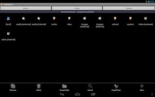Screenshot of AndExplorerPro (file manager)