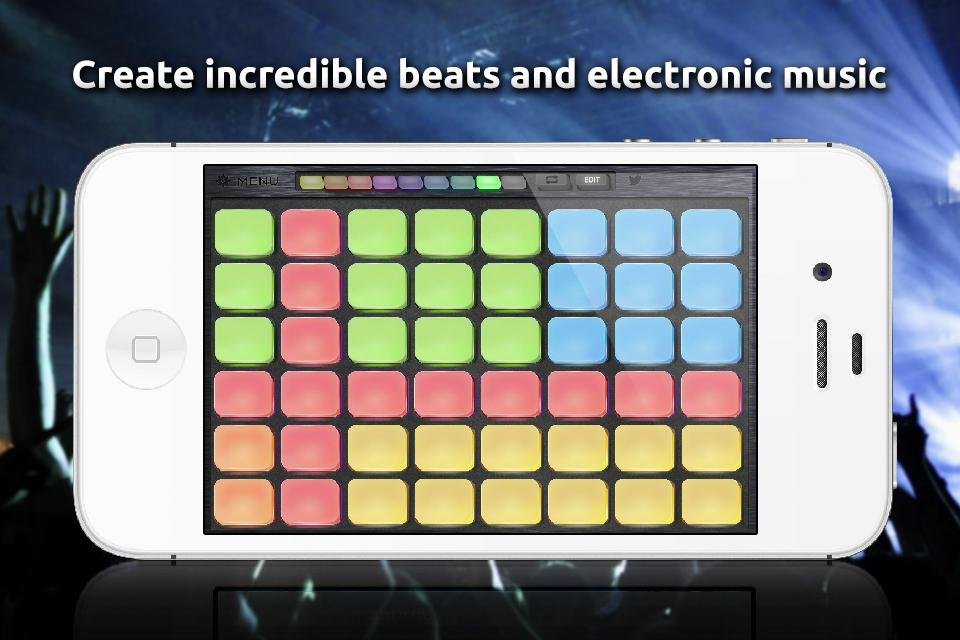 Beat Boss -Dance Music Sampler - screenshot