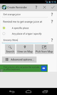 Geobells: Location Reminders - screenshot thumbnail