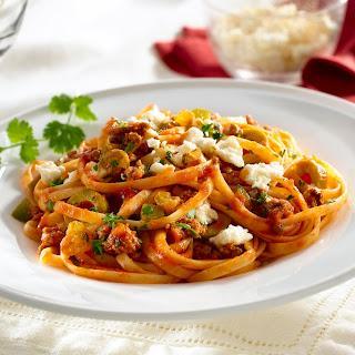 Picadillo Pasta.