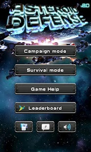 Asteroid Defense Classic Screenshot 1