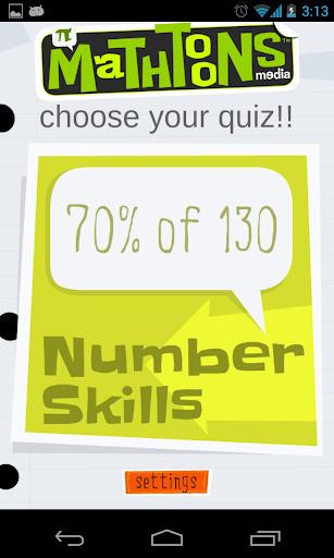 Number Skillz