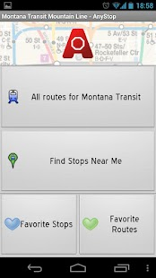 Mountain Line Missoula AnyStop - screenshot thumbnail